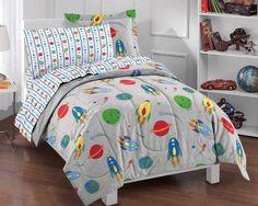 Space Rocket Ultra Soft Microfiber Twin Comforter Bedding Set, Gray Multi Dream Factory,http://www.amazon.com/dp/B009M43PHU/ref=cm_sw_r_pi_dp_pdlYsb1ZWB8337JZ
