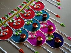 Beautiful and unique rangoli for festivals - Simple Craft Ideas Easy Rangoli Designs Videos, Simple Rangoli Border Designs, Easy Rangoli Designs Diwali, Indian Rangoli Designs, Rangoli Designs Latest, Rangoli Designs Flower, Free Hand Rangoli Design, Small Rangoli Design, Rangoli Ideas