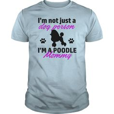 poodle design  Womens Long Sleeve Jersey TShirt