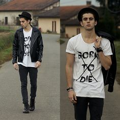 (NOT) BORN TO DIE (by Clément Lasserre) http://lookbook.nu/look/4385031-NOT-BORN-TO-DIE