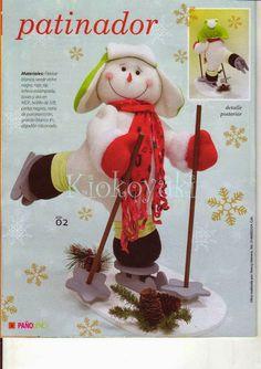 Archivo de álbumes Christmas Fabric, Fabric Decor, Snowman, Felt, Teddy Bear, Album, Toys, Bb, Corner