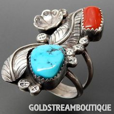Metal: Silver Metal Purity: .925 Hallmark: MG Size: 8 Artisan: Unknown Tribe Affiliation: Navajo Width ( inches / mm ): 0.89 / 22.6 Weight ( gram ): 10.1 Condition: Vintage PLEASE BE ADVISED: We sell