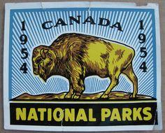 1954 Canada National Parks