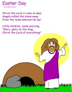 Best Short Easter Poems For Kids | Holiday | Easter poems ...