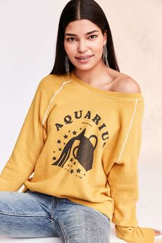 Project Social T '70s Astrology Sweatshirt