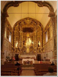 Santos-o-Novo -  Interior da Igreja -