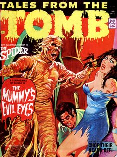 Tales from the Tomb - Vol. 6 #1 (Eerie Publications, 1974)