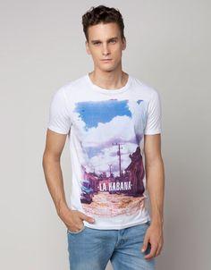 Bershka Serbia - Cities print T-shirt
