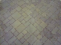 recycling slate roofing for flooring