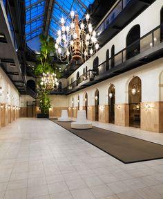 Het nieuwe Hulstkamp Gebouw in Rotterdam. Wintertuin #eventlocatie