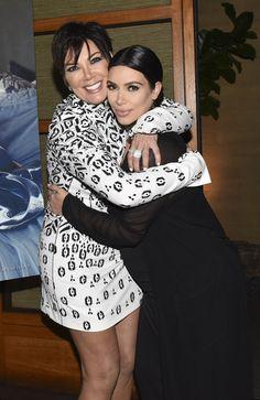 Kris Jenner and Kim Kardashian West attend Westime Celebrates Kris Jenner's Haute Living Cover at Nobu Malibu on August 24, 2015 in Malibu, California.