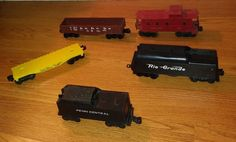 Vintage lot Lionel Trains & 1 Marx Coal, Lionel #9031, #UP9020,#RGrande,#6047~@@ #Lionel