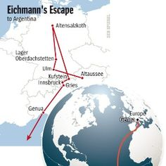 Graphic: Eichmann's Escape