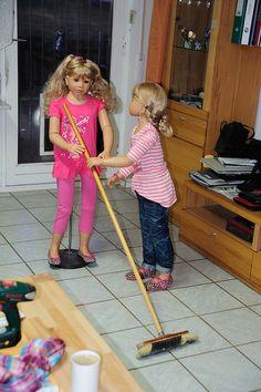 mattel barbie ken maman et papa avec jumeaux poussette double porte b b barbie babys. Black Bedroom Furniture Sets. Home Design Ideas