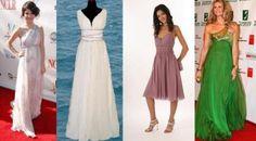 Vestidos de fiesta de estilo griego