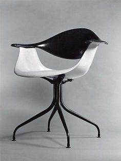 """Swaged-Leg"" Armchair / Charles Pollock for The Herman Miller Furniture Company / 1958"