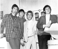 John Entwistle, Keith Moon, Pete Townshend, Roger Daltrey of The Who