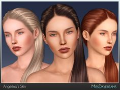 Angelina's Skin by MissDaydreams - Sims 3 Downloads CC Caboodle