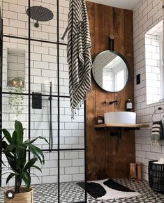 32 Breathtaking Ideas for Industrial Bathroom Design - . - 32 Breathtaking Ideas for Industrial Bathroom Design – … 32 Breathtaking Ideas for Industrial Bathroom Design – … Industrial Bathroom Design, Bathroom Interior Design, Interior, Home Remodeling, Cheap Home Decor, Home Decor, House Interior, Bathrooms Remodel, Bathroom Decor
