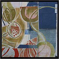 Northampton Artist Linda Batchelor, Monotypes and Collages