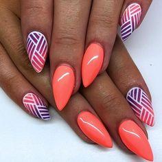 Best summer nails - 31 best summer nails for 2018 - hashtag nail art, . - Best summer nails – 31 best summer nails for 2018 – hashtag nail art, n - Summer Nails 2018, Bright Summer Nails, Cute Summer Nails, Cute Nails, Pretty Nails, My Nails, Nail Art Ideas For Summer, Best Nails, Summer Nail Art
