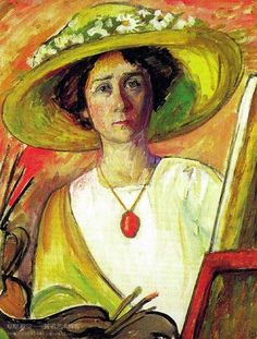 Gabriele Munter_self portrait