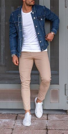 👍 Cool Casual Look! | Mens casual outfits summer, Mens summer outfits, Men fashion casual outfits Summer Outfits Men, Stylish Mens Outfits, Mens Fashion Summer Outfits, Winter Fashion, Casual Outfits, European Fashion Men, Formal Men Outfit, Mens Fashion Suits, Jeans Men Fashion