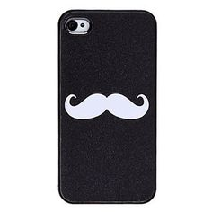 Case Mustache para iPhone 4/4S