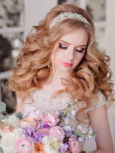 Long wedding hairstyles and wedding updos from Websalon Weddings / http://www.deerpearlflowers.com/websalon-weddings-wedding-hairstyles-and-updos/3/