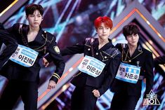 Behind The Scene of Group X Battle - Lee Eunsang, Cha Junho & UP10TION Wei (Lee Jinhyuk)