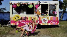 Miss Tartufo, Perth, W. Australia - retro '50s stye serving gelato, sorbet, coffee