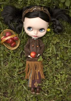 Native American Custom Outfit | Custom Blythe cothes by Suga… | Flickr