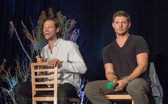 Jensen is not amused. Lol :) Vancon