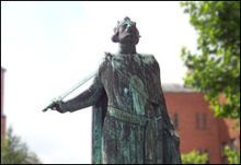Canute IV of Denmark (1042 - 1086). Son of Sweyn II Estridsson and an unknown mother. He succeeded his brother as King.
