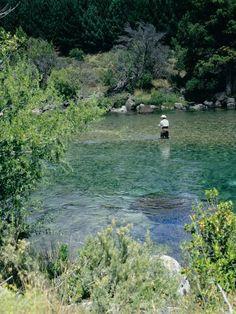 Pesca en el río Traful - Neuquen