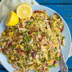 Kínai sertéshús tojásos rizzsel | Nosalty Chop Suey, Wok, Paella, Fried Rice, Good Food, Meals, Cooking, Ethnic Recipes, Cilantro