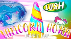 DIY Lush Unicorn Horn + Poop Bubble Bar+ Demo!