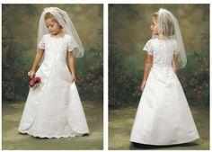First Communion Dress for Girls  www.circuscitykids.com
