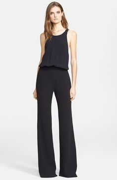 L'AGENCE Wide Leg Crepe Jumpsuit available at #Nordstrom