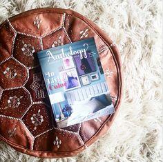 Bohemia Moroccan leather pouffe via Style Revolutionary Pouf Ottoman, Bohemian Style, Moroccan, Life Photo, Leather, Space, Decoration, Interior, Diy