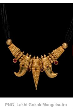 Jewelry Design Earrings, Gold Earrings Designs, Gold Jewellery Design, Necklace Designs, Diamond Mangalsutra, Gold Mangalsutra Designs, Antique Necklace, Antique Jewelry, Chevron Necklace
