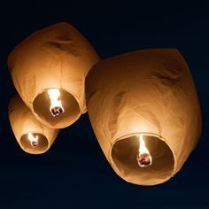 Sky Lanterns, or Chinese Lanterns, provide a special and unique element to your wedding reception. You and your wedding guests will gather outside to decorate the night sky with a beautiful stream of glowing lights. Plus, these sky lanterns are made with Wedding Sparklers, Wedding Favors, Wedding Decorations, Unique Wedding Reception Ideas, Wedding Invitations, Invitations Online, Night Wedding Ceremony, Cake Sparklers, Night Time Wedding