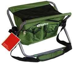 Ore International M80903 13Inch Messenger Portable Bag Cooler Chair Green -- Visit the image link more details.(This is an Amazon affiliate link and I receive a commission for the sales)