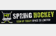 Sign up for spring hockey