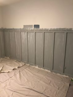 BOARD & BATTEN HOW-TO: GRAY AND WHITE GUEST BEDROOM