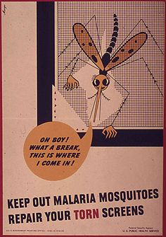 How The U.S. Stopped Malaria, One Cartoon At A Time : Shots - Health ...