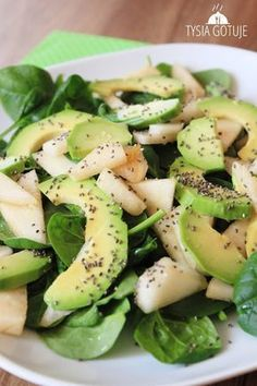 Raw Food Recipes, Salad Recipes, Diet Recipes, Healthy Recipes, Clean Eating, Healthy Eating, Slow Food, Soup And Salad, My Favorite Food