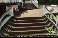 """Wood and Composite Decks,Trex, Timbertech, Azek Deck - traditional - porch - new york - Deck and Patio Company """"Outdoor Living Experts"""""""