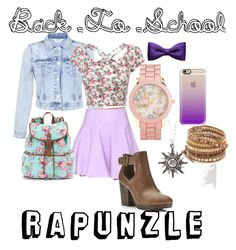"""""""B2S Rapunzle // Disneybound"""" by emily-ralph-peck on Polyvore"""