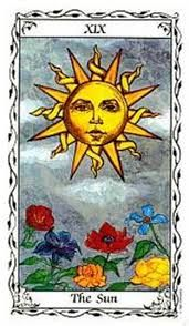 IL Sole da http://tarotnotes-majorandminor.blogspot.it riferito a The Hudes Tarot by Susan Hudes (pubblicato da U.S. Games Systems, Inc.)